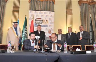 سفير السعودية يشهد التوقيع على تطوير فندق شبرد بتكلفة 1.4 مليار جنيه | صور
