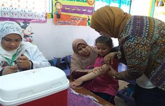 انطلاق الحملة القومية للتطعيم ضد الحصبة في المدارس والحضانات بالفيوم   صور