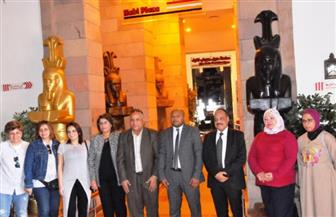 انطلاق فعاليات ملتقى لمسات أسوان الدولي الأول بمتحف النيل الوثائقي