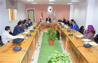 رئيس جامعة سوهاج يجتمع بمجلس إدارة البرامج الجديدة بكلية الآداب| صور