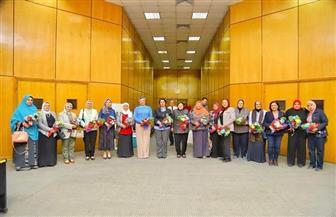 نائب رئيس جامعة أسيوط: إدارة الجامعة تولي المرأة بمختلف أعمارها وانتماءاتها العلمية والوظيفية | صور
