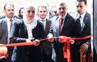 وزيرة التضامن: أسر الشهداء أمانة في رقابنا | صور