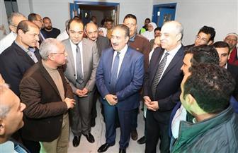 محافظ المنوفية: صرح طبي لخدمة أهالي المحافظة بتكلفة إجمالية 300 مليون جنيه   صور وفيديو