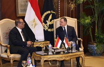 وزير الداخلية يستقبل نظيره اليمني لبحث التعاون الأمني