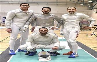 رجال سلاح السيف يعودون إلى القاهرة بعد التأهل إلى أوليمبياد طوكيو