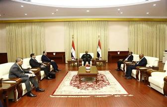 اللواء عباس كامل يؤكد لنائب رئيس مجلس السيادة السوداني دعم مصر السلطة الانتقالية