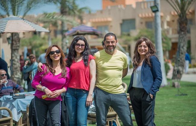 انتهاء هبة عبد الغني من تصوير حكاية سنين وعدت بمسلسل  إلا أنا | صور