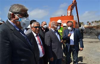 وزير النقل: محطة متعددة الأغراض بميناء الإسكندرية أهم مشروعات النقل البحري | صور