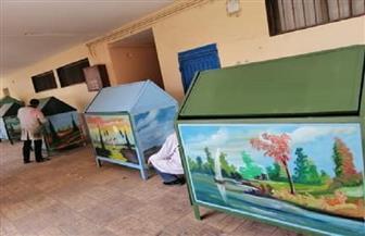 محافظ أسيوط: إنتاج صناديق القمامة من مخلفات الحملات الميكانيكية بالمدارس الفنية | صور