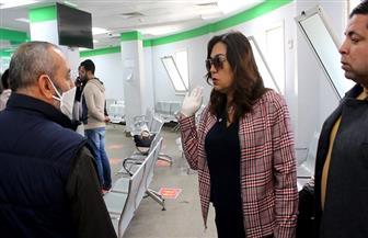 محافظة دمياط تتابع إجراءات صرف المعاشات في مكاتب البريد | صور