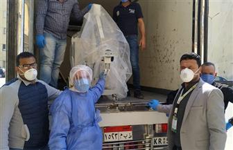 رجل أعمال يتبرع بـ 6 أجهزة مونيتور وجهاز أشعة وخمسة آلاف كمامة في بورسعيد | صور