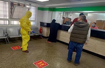 محافظ بورسعيد: تعقيم وتطهير منافذ صرف المعاشات للوقاية من فيروس كورونا | صور