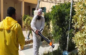 """الهلال الأحمر المصري يواصل تعقيم وتطهير المؤسسات الخدمية لمواجهة """"كورونا"""""""