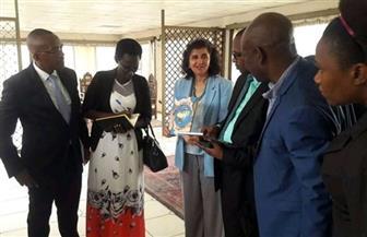 وفد المفوضية الوطنية البوروندية يشكر السفارة المصرية في بوجمبورا لدعمها لهم