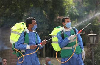 أبو العينين ينظم عملية شاملة لتطهير وتعقيم مستشفى أم المصريين بالجيزة| صور