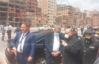 إزالة 10 مبان مخالفة على جانبي ترعة الطوارئ في حي السلام