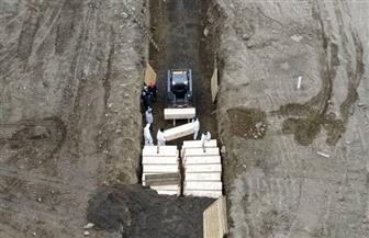 """""""جزيرة الموتى"""".. المحطة الأخيرة لضحايا كورونا في أمريكا"""