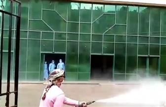 «صحة الغربية»: حملات دائمة لتطهير الشوارع بمحيط مستشفى العزل بكفر الزيات  صور