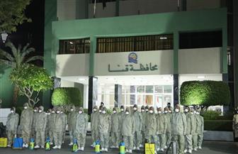 محافظ قنا: القوات المسلحة قامت بتعقيم وتطهير ديوان عام المحافظة | فيديو وصور