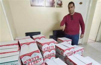 هنساعدك.. مبادرة لشباب حلوان لدعم العمالة غير المنتظمة بـ 5 آلاف كرتونة غذائية