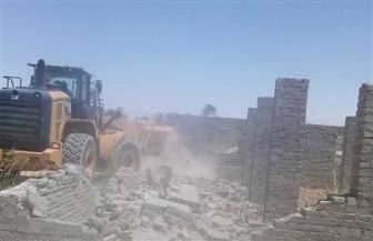 إزالة تعديات على 11 ألف م٢ من أملاك الدولة جنوب بورسعيد