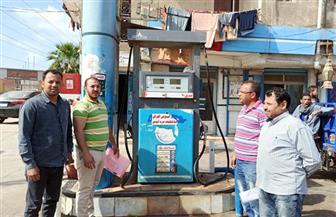 حملات تموينية لمتابعة تطبيق أسعار الوقود الجديدة في الفيوم | صور