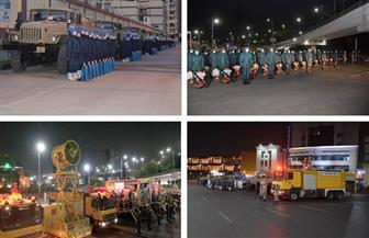 القوات المسلحة تواصل تعقيم وتطهير الميادين والأماكن الحيوية بالقاهرة والإسكندرية