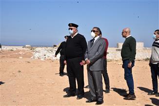 """محافظ مطروح يقود حملة لإزالة تعديات على 400 فدان من أراضي الدولة بمنطقة """"علوش""""  صور"""