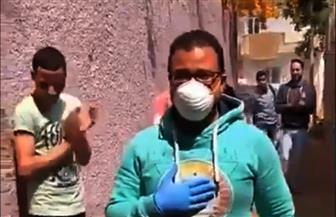 أهالي قرية بالمنوفية يستقبلون أحد أفراد الطواقم الطبية بالتصفيق بعد عودته من مستشفى العزل| فيديو