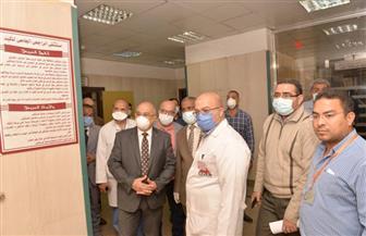 جامعة أسيوط: جاهزية مستشفى الراجحي لعزل مصابي كورونا من أعضاء هيئة التدريس والعاملين والطلاب | صور