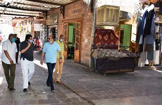 محافظ أسوان يتفقد السوق السياحية   صور