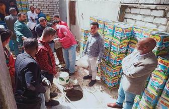 غلق 156 منشأة غذائية وإعدام 14 طن أغذية بالشرقية | صور