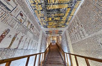 «السياحة والآثار» تطلق جولة افتراضية جديدة لمقبرة الملك رمسيس السادس اليوم