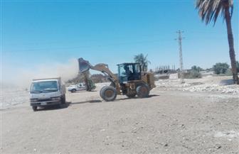إزالة ٥٥ حالة تعد على الأراضي الزراعية جنوب الأقصر |صور