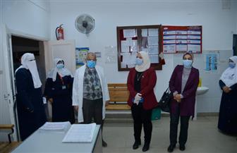 محافظ مطروح: لجنة للمرور على المستشفيات للتأكد من الإجراءات الوقائية ضد كورونا | صور