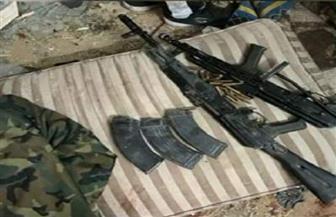 شاهد.. الأسلحة المضبوطة بحوزة خلية الأميرية الإرهابية| صور