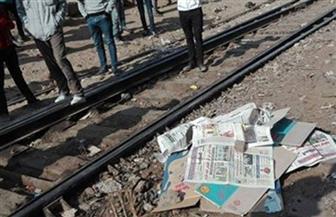 مصرع مواطن صدمه قطار أثناء عبوره مزلقان السكة الحديد بالغربية