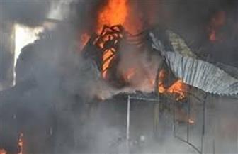 السيطرة على حريقين فى 5 منازل بسوهاج