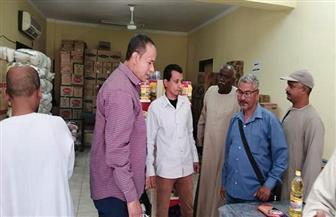 رئيس مركز الطود بالأقصر يتفقد معرض أهلا رمضان | صور