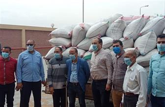 افتتاح موسم توريد واستلام القمح من المزارعين بصومعة طامية في الفيوم | صور