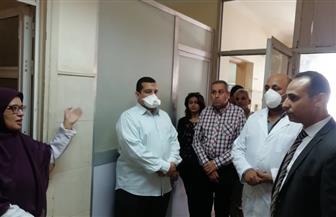 وكيل صحة سوهاج يتفقد مستشفى أخميم المركزى  صور