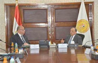 وزير التنمية المحلية ومحافظ القاهرة يستعرضان مستجدات مشروعات المحافظة | صور