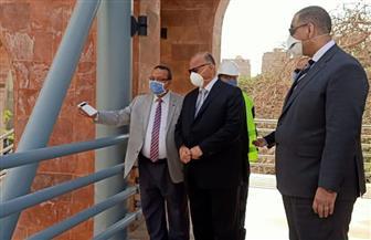 محافظ القاهرة يفتتح كوبري لخدمة مرضى معهد الأورام بتكلفة 15 مليون جنيه