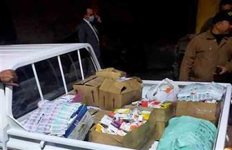 الرقابة الإدارية تلقي القبض على أمين مخزن متلبسا بنقل مستلزمات طبية لبيعها في السوق السوداء | صور وفيديو