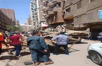 محافظة الجيزة تزيل سوق ترعة سليم بالهرم | صور