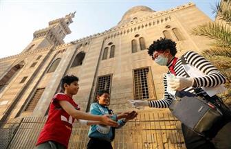 طالب هندسة مصري يستخدم فن البانتومايم لتوعية الأطفال بطرق مكافحة كورونا