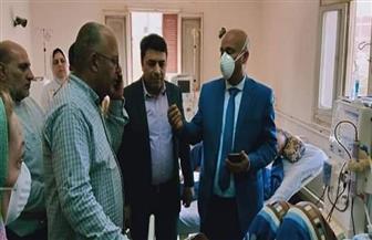 بعد تحويل مستشفى كفرالزيات إلى عزل صحي.. مرضى الغسيل الكلوي يطالبون بتجهيز وحدة للجلسات بالمركز الطبي  صور