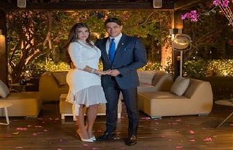 أول تعليق للعروسة ياسمين صبري بعد حفل زفافها على أبو هشيمة| صور