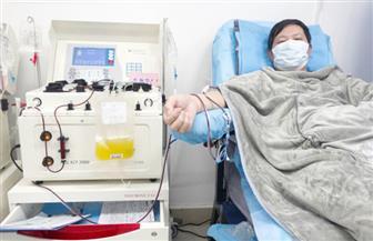 أكثر من 500 مريض كورونا في ووهان تلقوا العلاج ببلازما المتعافين