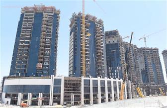 """""""إسكان النواب"""" تتفقد أعمال إنشاء أبراج مدينة العلمين الجديدة"""